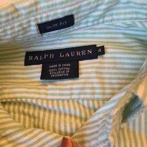 Ralph Lauren button down long sleeve Oxford shirt